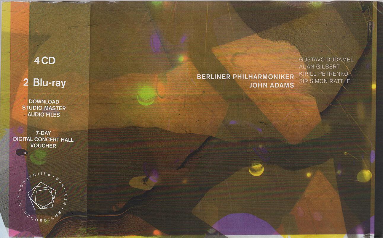 John Adams Edition, Berlin Philharmoniker Recordings